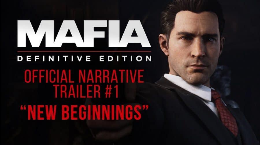 Que evolução! Trailer de Mafia: Definitive Edition é lindo