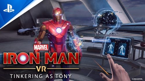 Marvel's Iron Man VR: fãs poderão customizar armaduras na garagem de Tony Stark