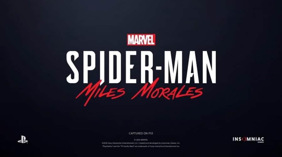 Sony anuncia Marvel's Spider-Man Miles Morales para PS5 em 2020