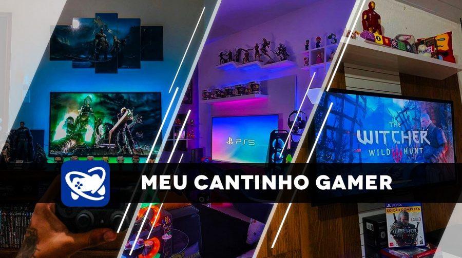 Meu Cantinho Gamer: as gaming rooms mais estilosas da semana #5