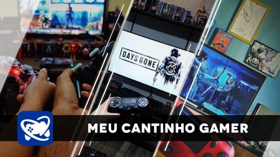 Meu Cantinho Gamer: gaming rooms pra você se inspirar #7