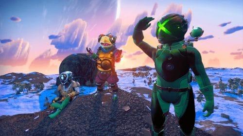 No Man's Sky terá update com crossplay entre PS4, Xbox One e PC