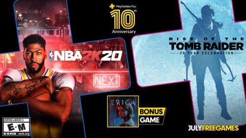 PS Plus faz aniversário e Sony vai dar três jogos em julho!