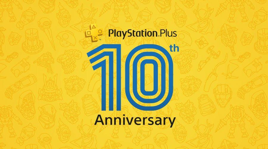 Tema do 10º aniversário da PS Plus está disponível gratuitamente na PS Store