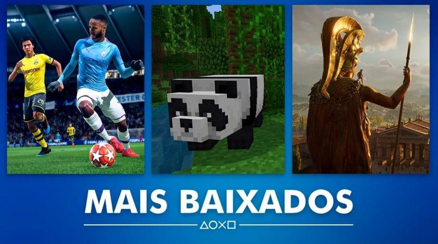 Sony revela os mais baixados de maio na PS Store Brasil