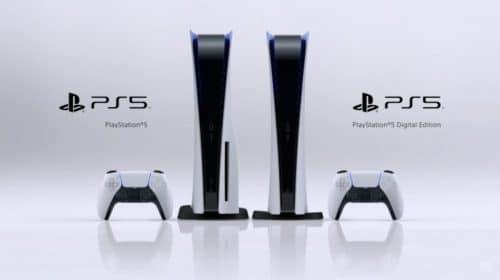 Site estima diferença de US$ 50 entre versões digital e comum do PS5