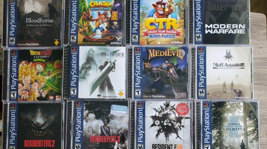 Fã de PlayStation cria boxarts de PS1 para coleção de jogos de PS4