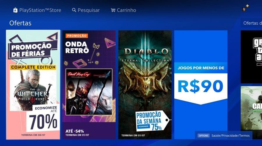 Promoção de Jogos: Sony lança Promoção de Férias na PS Store