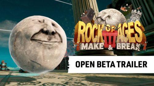 Rock of Ages 3 terá beta aberta no PS4 no fim de junho