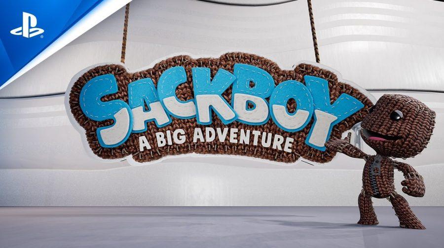 Quase LittleBigPlanet, Sackboy: A Big Adventure é mais um jogo do PS5