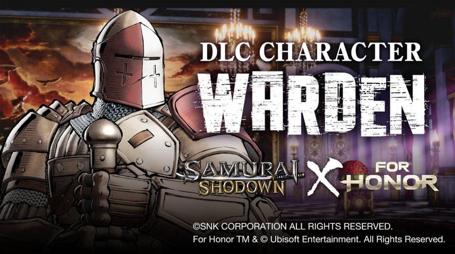 Samurai Shodown terá novo personagem jogável: Guardião, de For Honor