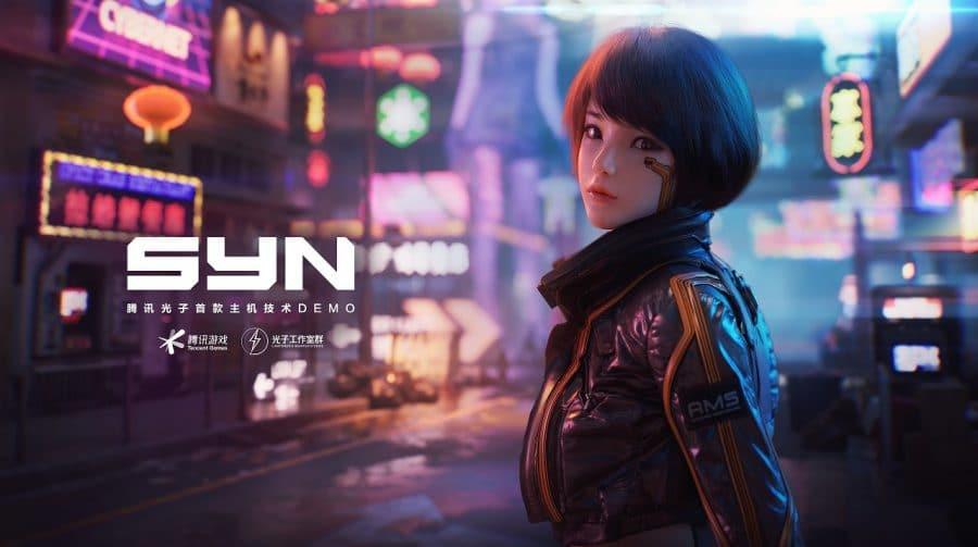 Tencent mostra demo de um projeto cyberpunk para os consoles