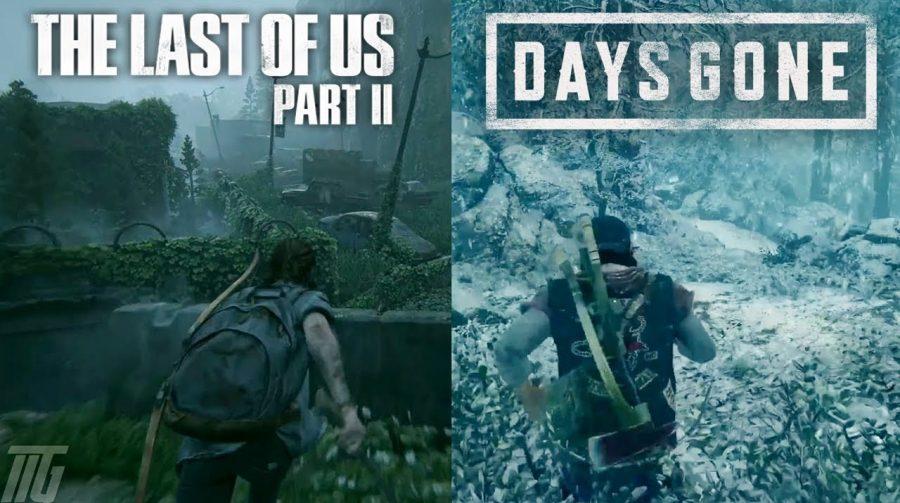 Crossover: Bend Studio homenageia The Last of Us 2 reunindo Ellie e Deacon em arte