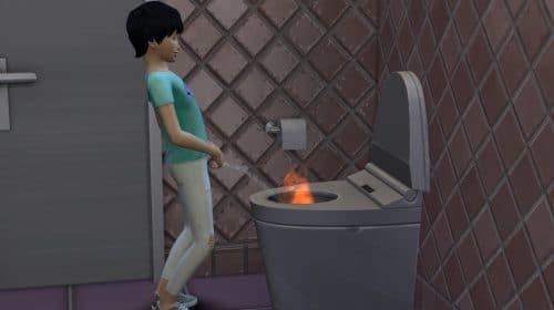Tá pegando fogo, bicho! Bug em The Sims 4 faz personagens urinarem chamas