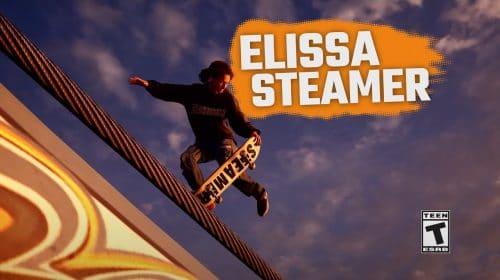 Elissa Steamer fala sobre Tony Hawk's Pro Skater em novo gameplay