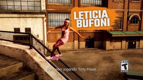 Activision revela gameplay de Letícia Bufoni em Tony Hawk's Pro Skater 1+2