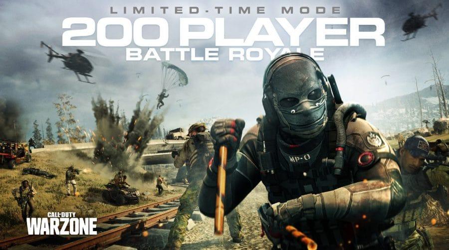 Warzone receberá update e suportará partidas com 200 jogadores