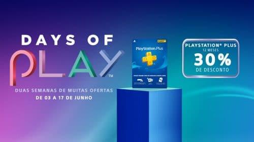 Sony oferece assinatura do serviço PS Plus com 30% de desconto