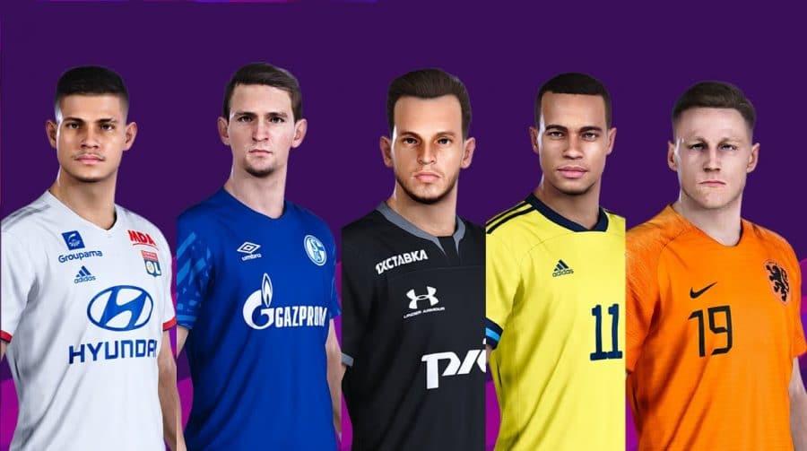 Update 8.0 de eFootball PES 2020 é lançado com face de Bruno Guimarães