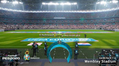 Data Pack 7.0 de eFootball PES 2020 é lançado com UEFA Euro 2020