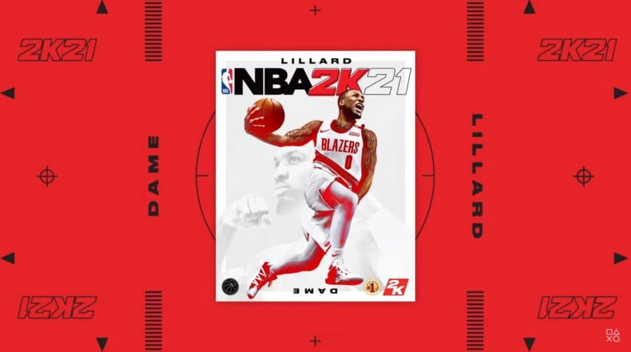 NBA 2K21: astro do Blazers, Damian Lillard, será a capa do jogo no PS4
