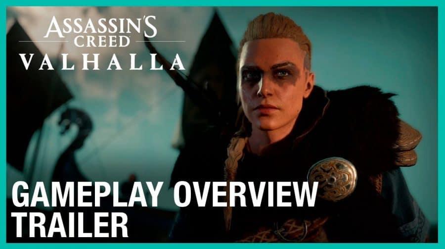 Por Odin! Ubisoft libera primeiro gameplay oficial de Assassin's Creed Valhalla