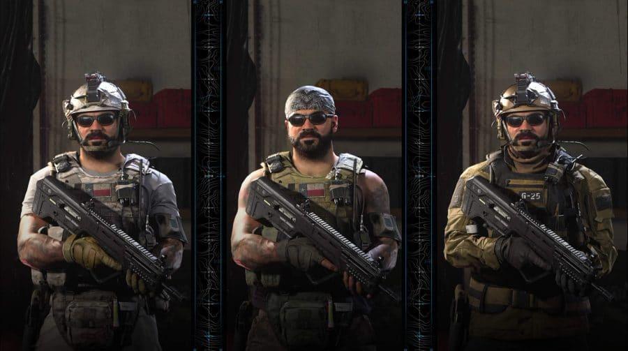 Skin de Call of Duty: Modern Warfare é alterada por protestos