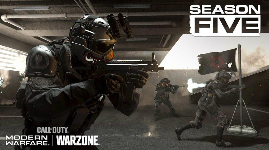 5º Temporada de Call of Duty: Modern Warfare começa em 5 de agosto