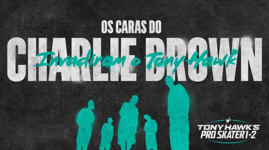 Tony Hawk's Pro Skater 1 + 2 terá música de Charlie Brown Jr