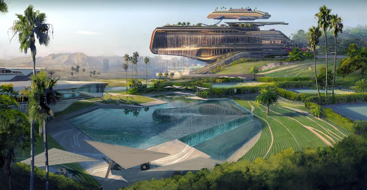 Cyberpunk 2077: belas artes conceituais mostram nova área em Night City 1