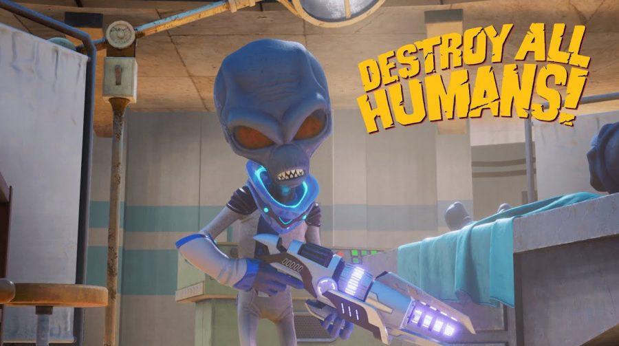 'Destroy All Humans!' recebe trailer destacando a Área 42