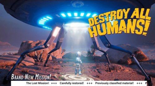 Remake de 'Destroy All Humans!' contará com uma