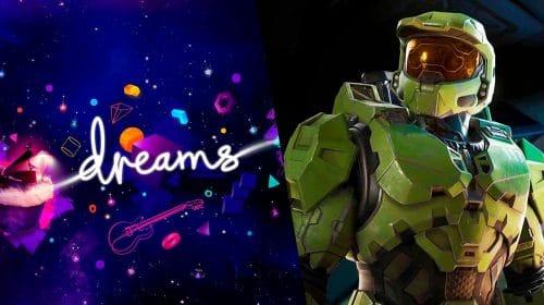 Jogador recria bela versão de Halo Infinite em Dreams