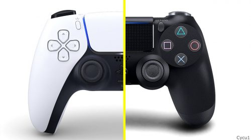 Compare: tamanho do DualSense vs. DualShock 4