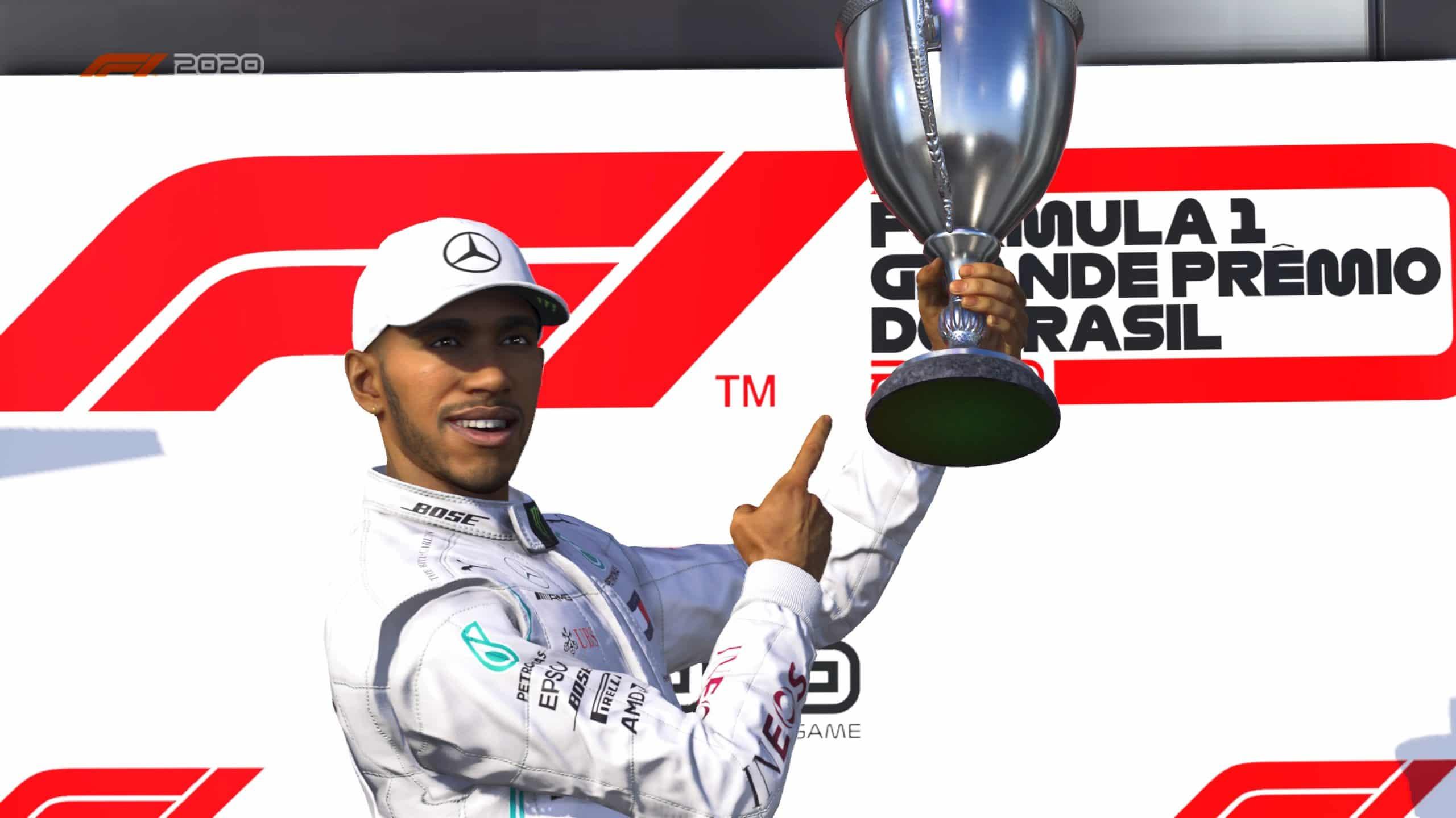 F1 2020 ainda é o número 1 da categoria (Foto: Reprodução/Thiago Barros)