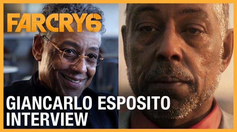 Far Cry 6: Giancarlo Esposito traz detalhes sobre vilão do game