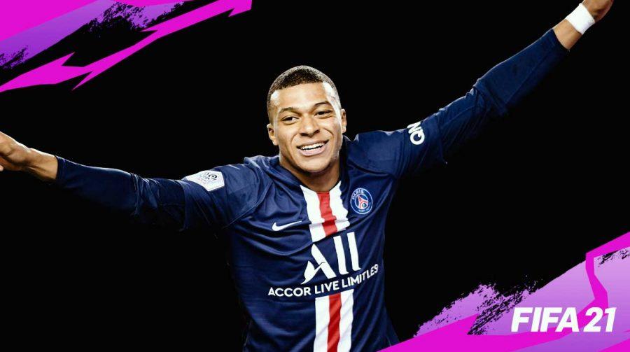 EA anuncia: Mbbapé será capa do FIFA 21