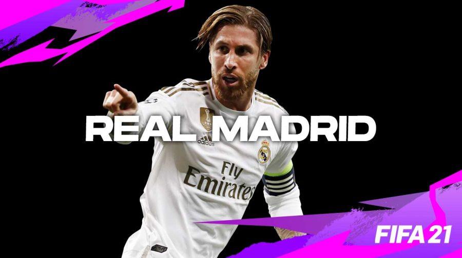 FIFA: EA anuncia renovação de parceria com o Real Madrid por cinco anos