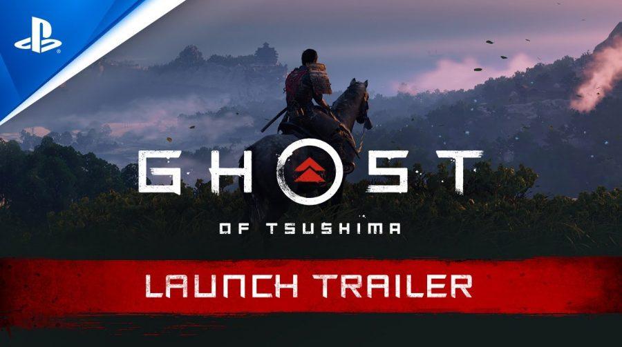 Sangue e Aço! Sony publica trailer de lançamento de Ghost of Tsushima