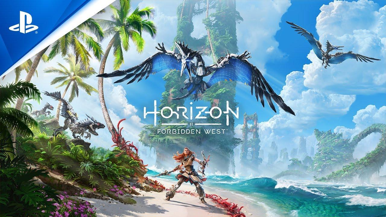 Capa de Horizon Forbidden West, que pode aparecer durante o evento Summer Game Fest 2021