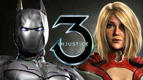 Injustice 3 pode ser revelado em breve
