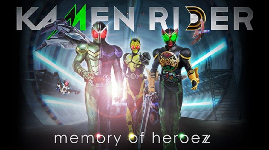 Bandai Namco anuncia Kamen Rider: Memory of Heroez para PS4