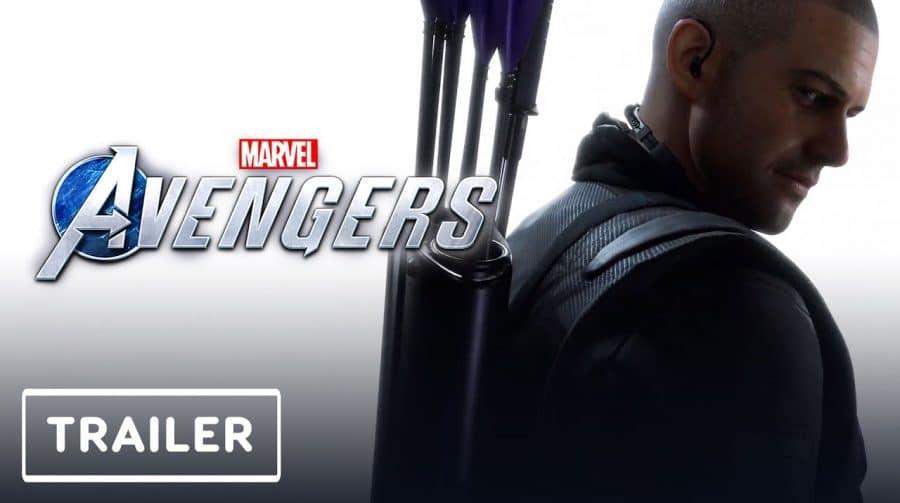 Gavião Arqueiro é confirmado como personagem jogável em Marvel's Avengers!