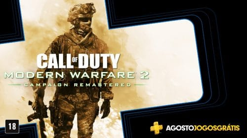 CoD: Modern Warfare 2 Campaign Remastered já está disponível na PS Plus