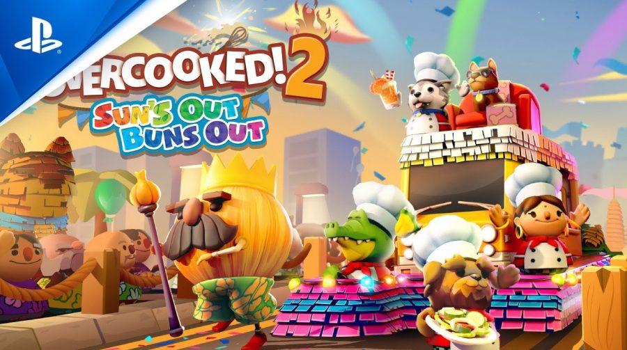 Novo conteúdo gratuito de Overcooked! 2 já disponível no PS4