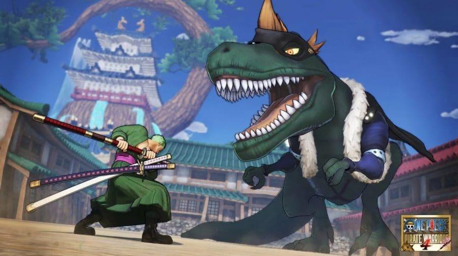 Bandai Namco libera screenshots de X Drake, DLC de One Piece Pirate Warriors 4