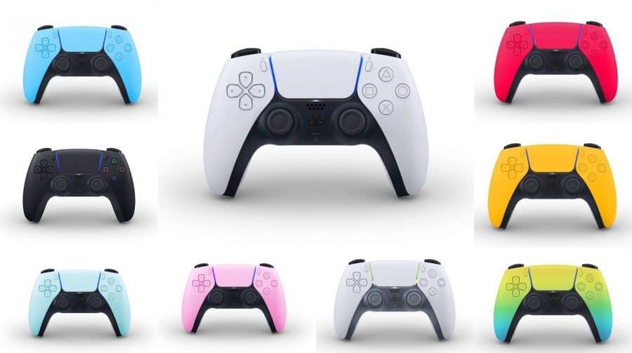 Sony promete falar sobre novas cores do PS5