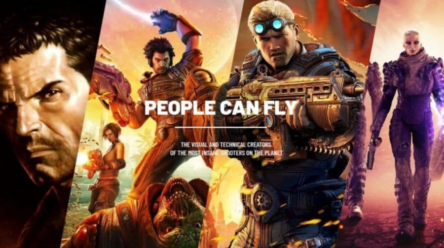 People Can Fly, dev de Outriders, revela trabalho em AAA para o PS5