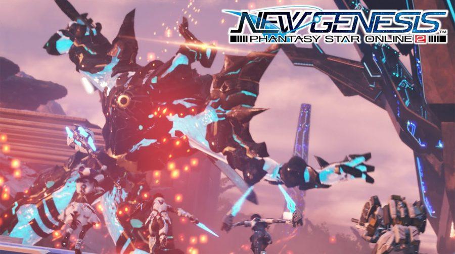 Phantasy Star Online 2: New Genesis é anunciado para PS4 no Japão