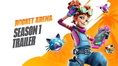 Rocket Arena: trailer da 1ª Temporada mostra as novidades